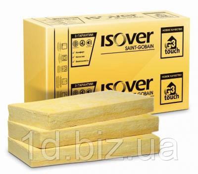ISOVER Изовер Штукатурный фасад, 100 мм, (600х1200)х  2,88 кв.м/рулон