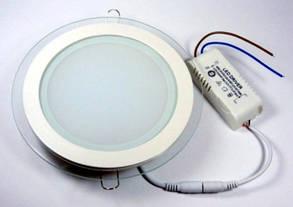 Светодиодный светильник SEAN 12W 4000K круглый сатурн Код.57678, фото 2