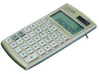 Калькулятор (Элемент питания и солнечная батарея питание) CITIZEN CPC-210 GL