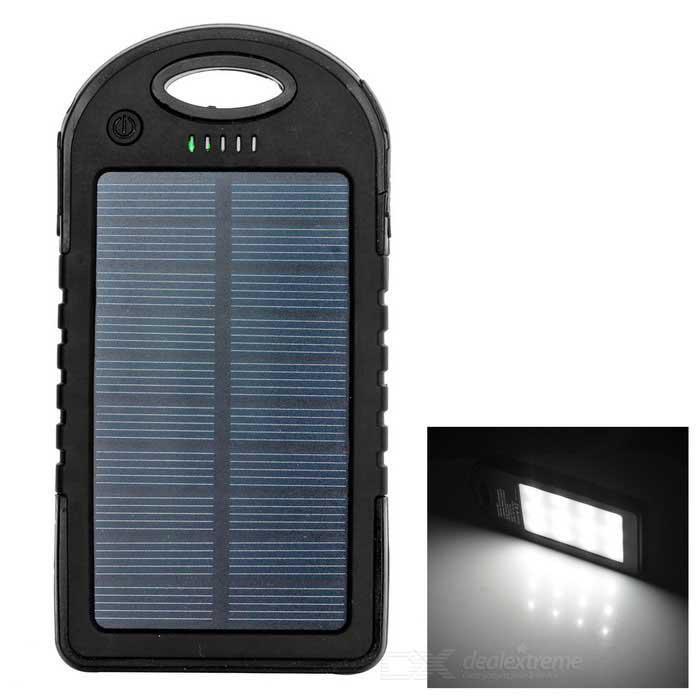 Power Bank 45000 mA + Solar Panel солнечный в защитном корпусе