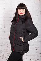 Весенняя женская куртка батальных размеров на весну модель 2018 - (кт-246), фото 1