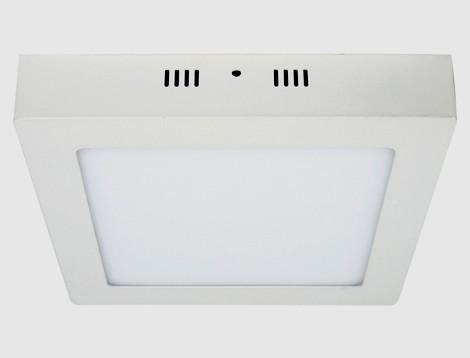 Накладной потолочный светильник led Feron AL505 24W 5000K квадратный Код.57966