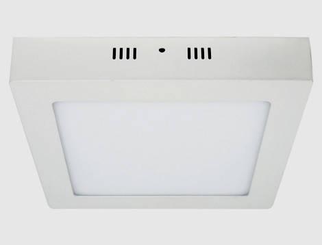 Накладной потолочный светильник led Feron AL505 24W 5000K квадратный Код.57966, фото 2