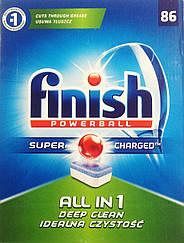 Таблетки для посудомоечных машин Finish Powerball All in 1