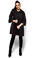 Коротке чорне пальто-кардиган Zarina (S, M, L)