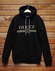 Худи Gucci черного цвета реплика