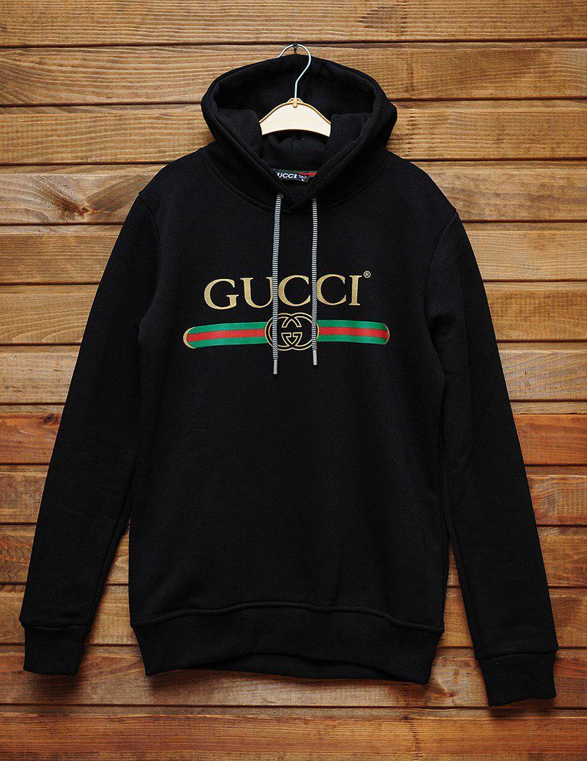 98352e38 Худи Gucci черного цвета топ реплика, цена 950 грн., купить в Киеве —  Prom.ua (ID#649220814)