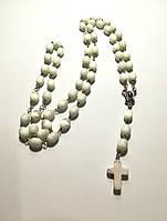Четки католические Розарий Кошачий глаз, четки розарий из натурального камня, розарий классический