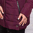 Женская куртка батальных размеров для женщин на весну модель 2018 - (кт-247), фото 4