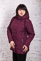 Женская куртка батальных размеров для женщин на весну модель 2018 - (кт-247), фото 1