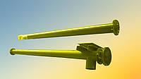 Шнек в сборе без двигателя в трубе 133 мм, длиной 2 м, толщина спирали 2 мм, фото 1