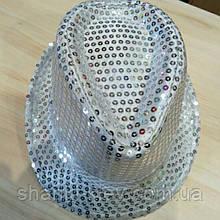 Шляпа Ткань Паетки Праздничная