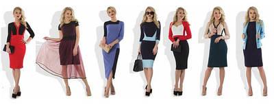 Платья женские от ТМ Фабрика моды