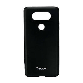 Чехол накладка для LG V20 силиконовый IPAKY, Матовый, черный