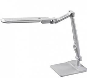 Светодиодная настольная лампа SEAN 10W белая, сенсор, диммер Код.58480
