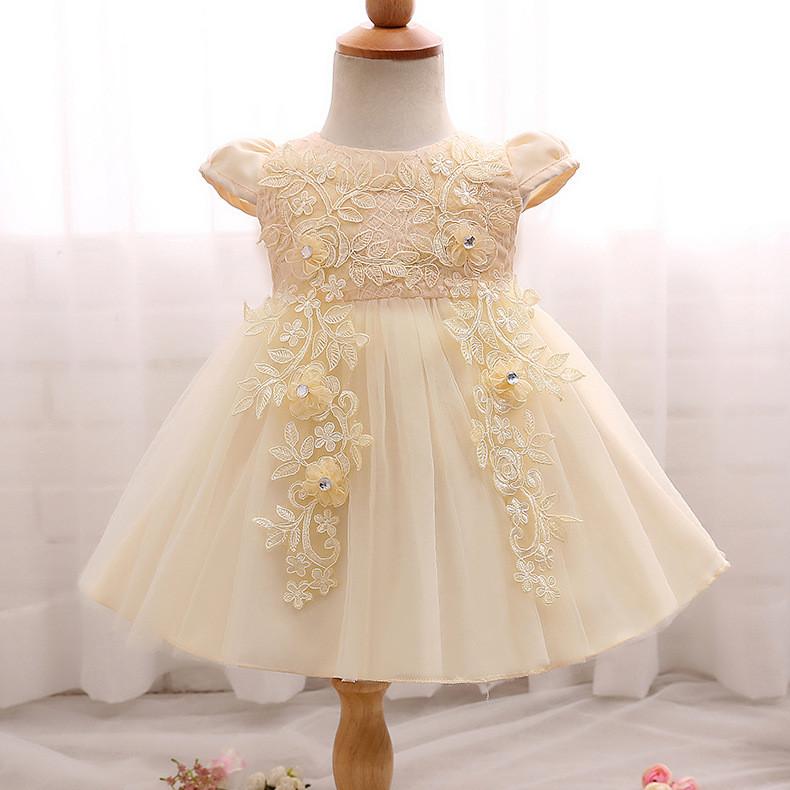 Платье нарядное для девочки от 3 мес. до 2 лет
