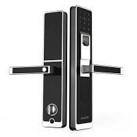 Умный дверной замок Aqara Smart Door Lock от Xiaomi. Со сканером отпечатков пальцев. Двухсторонний , фото 1