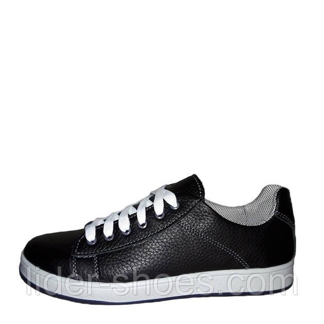 Кроссовки подростковые черного цвета