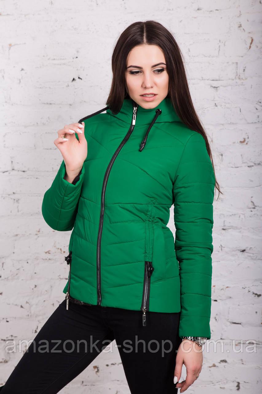 Брендовая женская куртка AMAZONKA на весну модель 2018 - (кт-252)