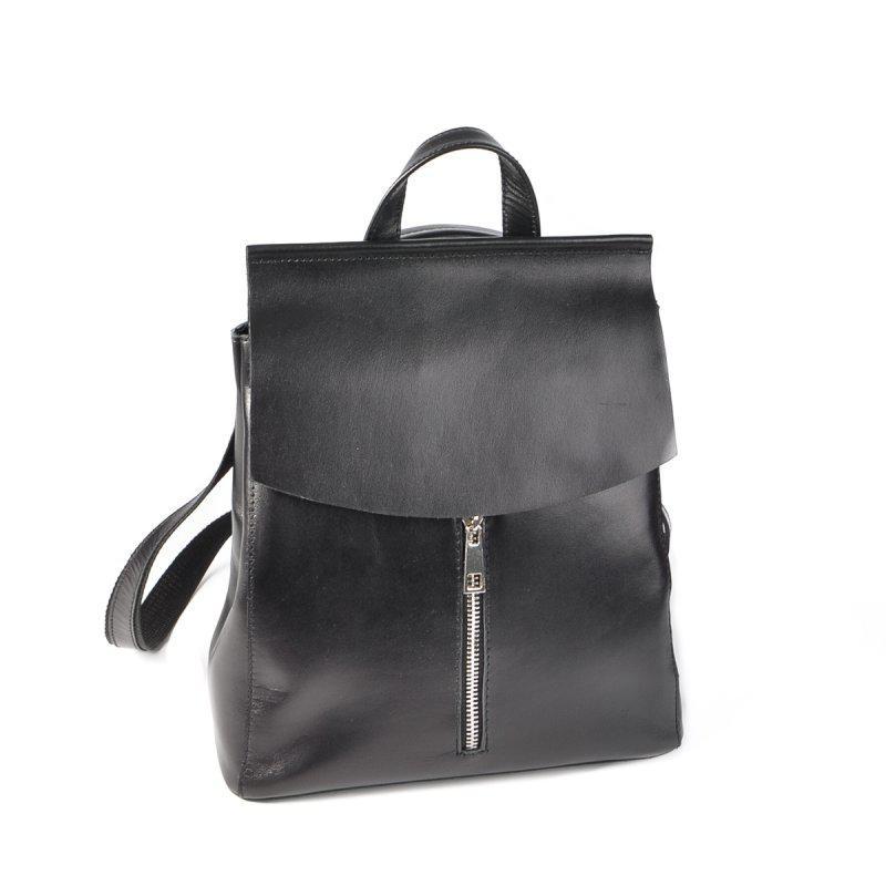541f316d02ab Женский кожаный рюкзак-трансформер М156 black, цена 1 450 грн ...