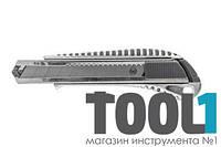Нож мет. автозамок 2 лезвия 18 мм. HOUSETOOLS 17D128