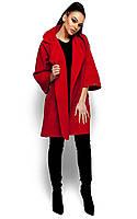 Коротке червоне пальто-кардиган Zarina (S, M, L)