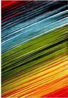 Ковёр цветные линии 1.20х1.70 м.