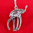 Серебряная подвеска Слон Дали - Кулон Слон серебро, фото 4