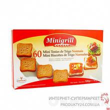 Сухарики пшеничные Minigrill, 120г