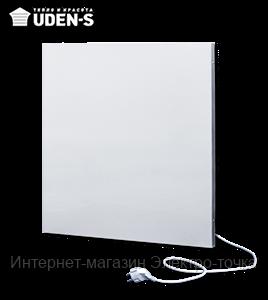 Отопительная панель инфракрасная металлокерамическая (8-10 кв.м) 500 Вт. UDEN-500 со шнуром, вилкой