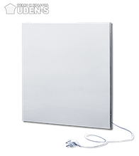 Металлокерамическая панель отопительная инфракрасная (8-10 кв.м) 500 Вт. UDEN-500 со шнуром, вилкой