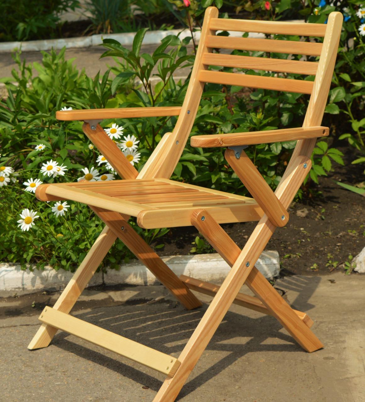 Кресло раскладное садовое