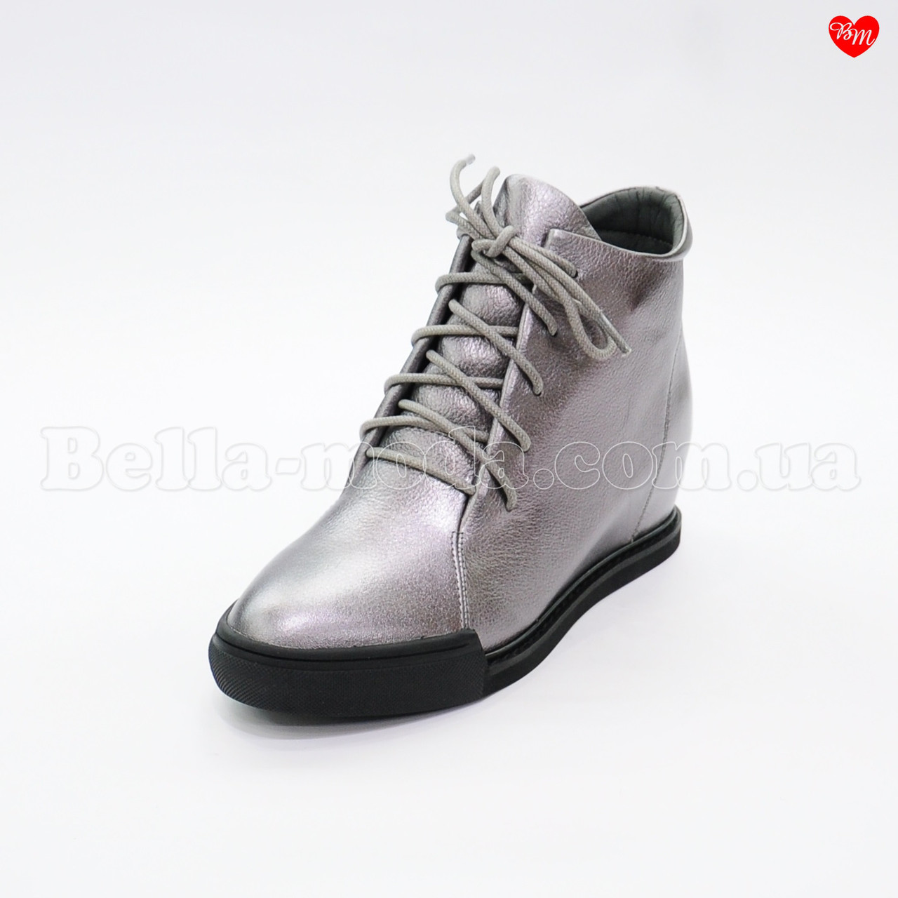 b7ccf783b Купить Женские ботинки на скрытой танкетке Berkonty в розницу от ...