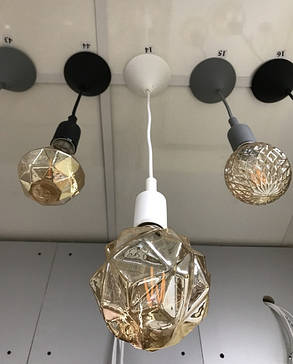 Подвес для LED лампы SL-072 V-образный Е27 белый Код.58964, фото 2