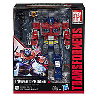 Трансформер 4в1 Оптимус Прайм + Орион Пакс 23см - Optimus+Orion, Power of the Primes, Leader Class, Hasbro