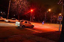 Уличный прожектор красный с линзой 20W Slim Код.59189, фото 2