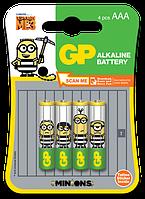 Батарейки LR3 GP Alkaline Ultra Миньоны