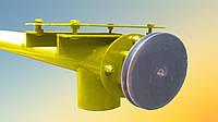 Шнек в сборе без двигателя в трубе 133 мм, длиной 12 м толщина спирали 2 мм, фото 1