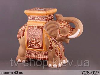 Подставка интерьерная Слон ,43 см(4 вида)