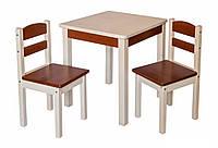 Купить деревянный детский столик