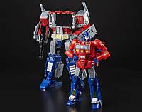 Трансформер 4в1 Оптимус Прайм + Орион Пакс 23см - Optimus+Orion, Power of the Primes, Leader Class, Hasbro