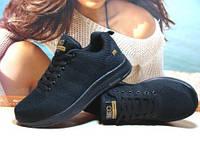 Кроссовки женские Adidas Neo (реплика) черные 36 р.