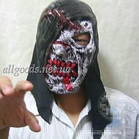 Маска Зомби. Страшные маски. латексная