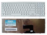 Оригинальная клавиатура для ноутбука Sony Vaio VPC-EH Series White