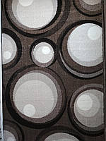 Коврик коричневый с шарами 2.00х3.00 м.