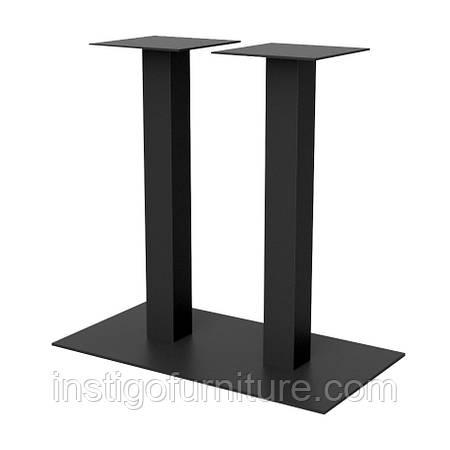 Опора двойная для стола из металла