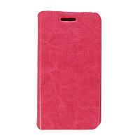Чехол книжка для LG L60 Dual X135, X145 боковой ORIGINAL, Розовый
