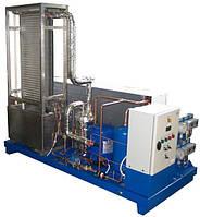Установка охлаждения жидкости с панельным теплообменником