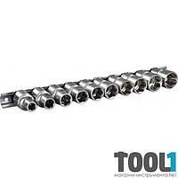 Набор головок SL CRV 1/2, 10 шт ( 10 - 24 мм) Miol 58-301