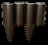 Палисад PALGARDEN коричневый - 2,5 м